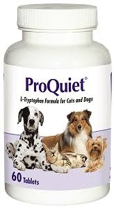 ProQuiet L-Tryptophan Formula for Cats and Dogs- 60ct