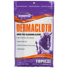 Dermacloth Rinse Free Cleansing Cloths- 8ct