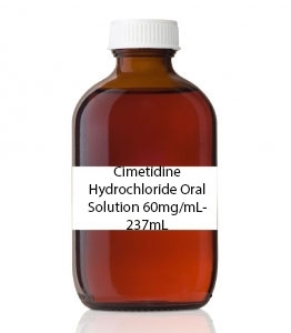 Cimetidine Hydrochloride Oral Solution 60mg/mL- 237mL