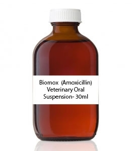 Biomox  (Amoxicillin) Veterinary Oral Suspension- 30ml