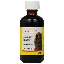 Pet-Tinic Drops, Vitamin-Mineral Supplement for Dogs & Cats- 4oz