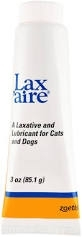 Lax'aire Laxative and Lubricant for Dogs and Cats- 3oz