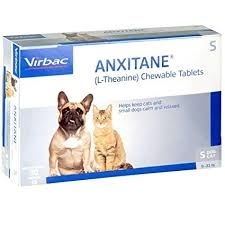 Anxitane S (L-Theanine) Chewable Tablets for Cats & Small Dogs- 30ct