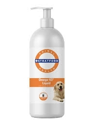 Omega-V3 Liquid for Dogs & Cats- 8oz