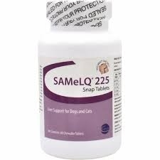 SAMeLQ 225 Snap Tablets, Liver Support for Dogs & Cats- 60ct
