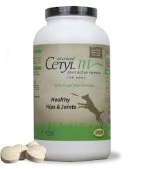 Advanced Cetyl M Joint Action Formula for Dogs- 50ct