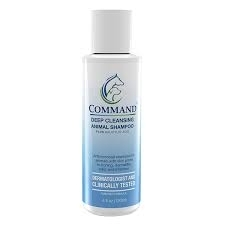 Command Deep Cleansing Shampoo for Animals- 4oz