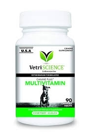 Canine Plus Multivitamin for Everyday Health- 90 Chewable Tablets