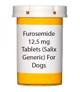 Furosemide 12.5 mg Tablets (Salix Generic) For Dogs