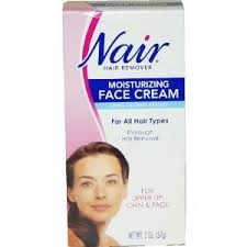 Nair Hair Remover Moisturizing Face Cream - 2oz