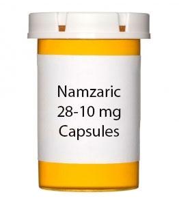 Namzaric 28-10 mg Capsules