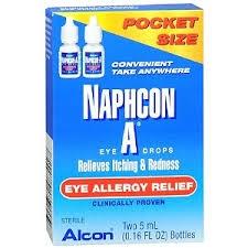 Alcon Naphcon A Eye Allergy Relief Eye Drops - 2x5ml