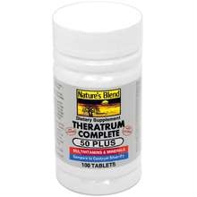 Natures Blend Theratrum Complete Tablets 50 Plus - 100ct