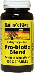 Nature's Blend  Probiotic Blend Capsules 100ct