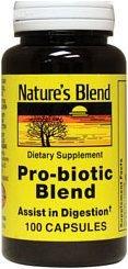 Nature's Blend  Probiotic Blend Capsules 100ct