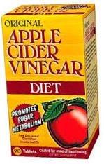Nature's Bounty Original Apple Cider Vinegar Diet Tablets - 90 Count Bottle