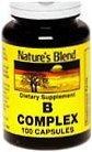 Natures Blend B Complex Capsules 100ct
