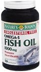 Natures Bounty Fish Oil 1000 mg Softgels 50ct