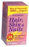 Natures Bounty Hair Skin and Nails Tablets 60ct
