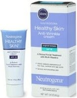 Neutrogena Healthy Skin Anti-Wrinkle Cream-Orid Formula SPF 15 1.4oz