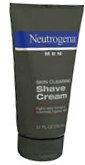 Neutrogena Men Skin Clearing Shave Cream 5.1 oz