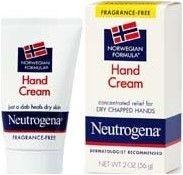 Neutrogena Norwegian Formula Hand Cream- Fragrance Free 2oz
