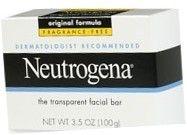 Neutrogena Transparent Facial Ba r (Fragrance Free) - 3.5 oz