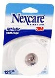 Nexcare Athletic Cloth Tape 1-1/2 Inches X 12.5 Yards