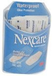 Nexcare Bandages Waterproof Clear Assorted Sizes 20ct