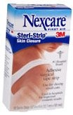 Nexcare Steri-Strip Skin Closure Strips 1/2 Inch X 4 Inches  18ct