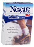 Nexcare Tegaderm Transparent Dressings 2-3/8 Inches X 2-3/4 Inches  8ct