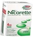 Nicorette Gum 4mg Mint - 170ct Box