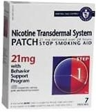 Nicotine Transdermal System Step 1(Generic) - 21mg/24HR Patch 7ct