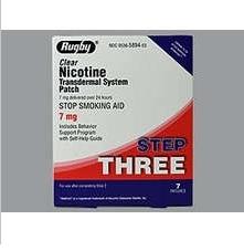 Nicotine Transdermal System Step 3 (Generic) - 7mg/24HR Patch 7ct