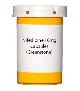 Nifedipine 10mg Capsules (Greenstone)