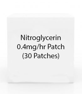 Nitroglycerin 0.4mg/hr Patch (30 Patches)