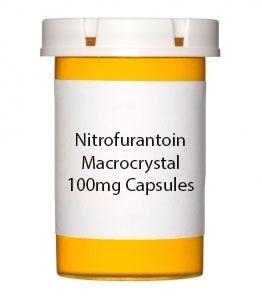 Nitrofurantoin Microcrystal 100mg Capsules