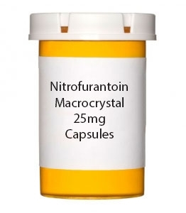 Nitrofurantoin Macrocrystal 25mg Capsules