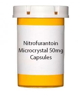 Nitrofurantoin Microcrystal 50mg Capsules