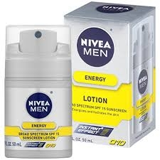 NIVEA Men® Energy Lotion SPF 15 - 1.7 fl oz