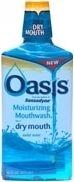 Oasis Moisturizing Mouthwash Mild Mint 16oz