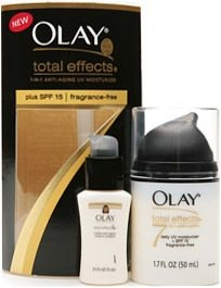 Olay Total Effects Moisturizing Vitamin Complex  UV Protection  Fragrance Free 1.7oz