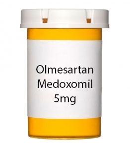 Olmesartan Medoxomil 5mg Tablets