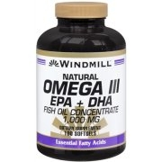 Windmill Omega III EPA + DHA Softgels Natural 90