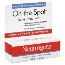 Neutrogena On The Spot Acne Treatment Cream 0 75 Oz