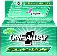 One A Day Womens Active MetabolismTablets 50ct