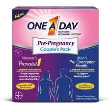 One A Day Pre-Pregnancy Couple's Pack - 30 + 30ct