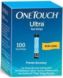 OneTouch Ultra Diabetic Test Strips - 100 Strips