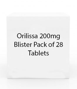 Orilissa 200mg Blister Pack of 56 Tablets