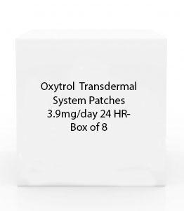 Oxytrol  Transdermal System Patches 3.9mg/day 24 HR- Box of 8